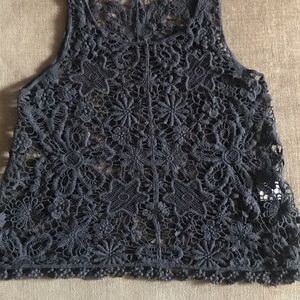 Tops - Crochet Tank Top
